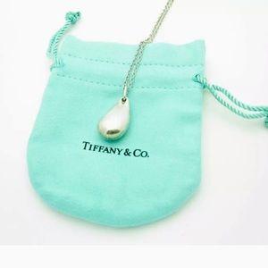 Tiffany & Co. Elsa Peretti Teardrop Necklace